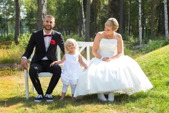 Bröllop. Marika Johansson. Fotograf.